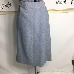 HELEN KAY light blue straight skirt 19/20